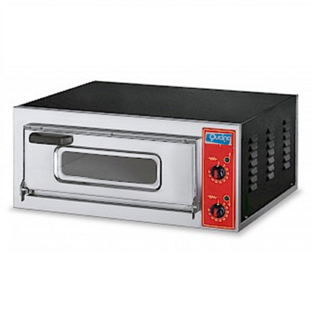 Forno Pizza Qucino Elettrico ad Una Camera Monofase - Bocca Alta 11 cm