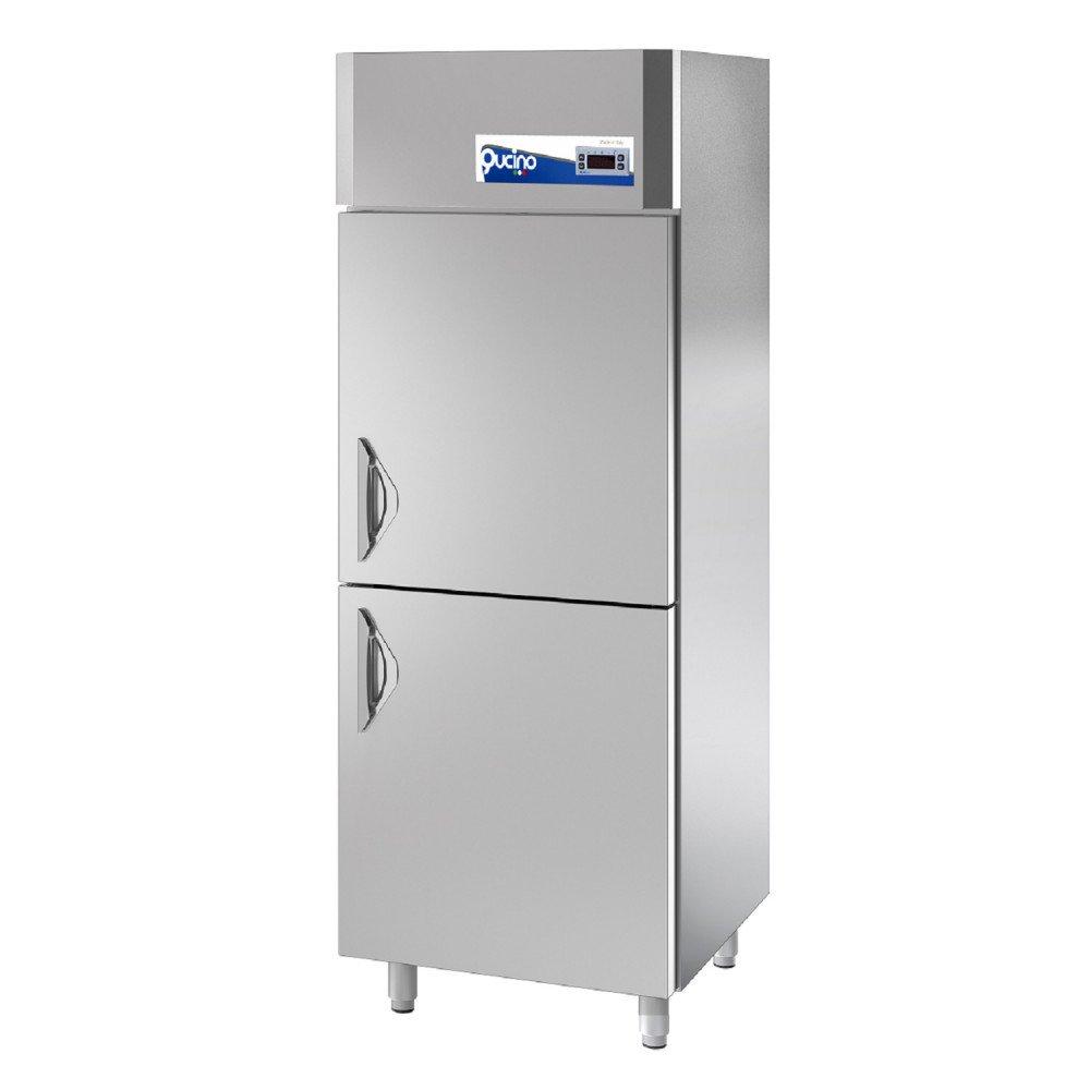 Armadio Congelatore Qucino Multifunzione 900 Litri - Temperatura -15-22°C - n. 2 Mezze Porte