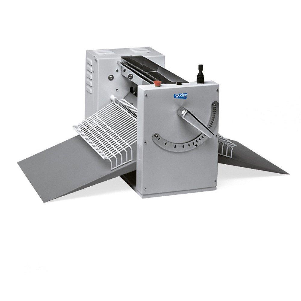 Sfogliatrice Elettrica Qucino da Banco con Scivoli - Larghezza Rulli 500 mm
