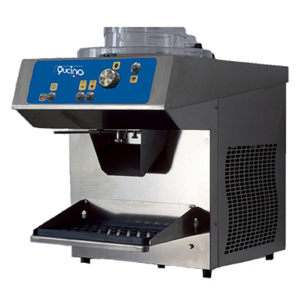 Mantecatore Qucino Elettromeccanico con Lavorazione Verticale Inverter ed Estrazione Automatica - Produzione Gelato 1-2 Litri per Ciclo